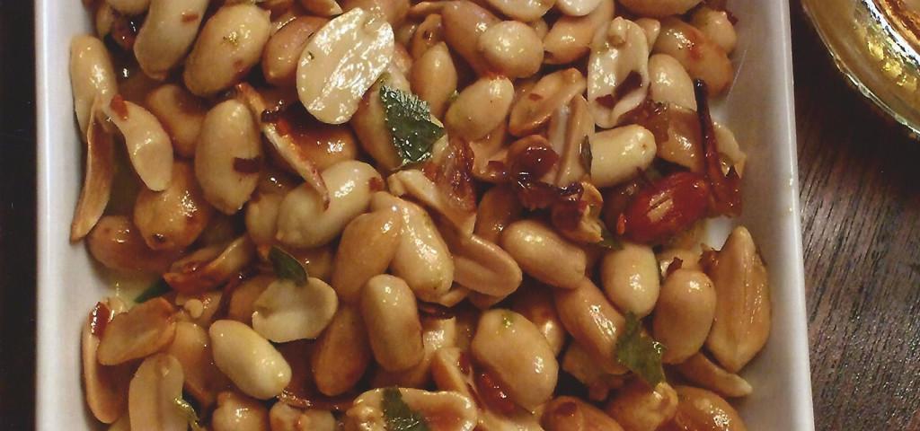 Warm Thai Peanuts
