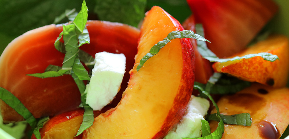 Roasted Beet and Nectarine Salad