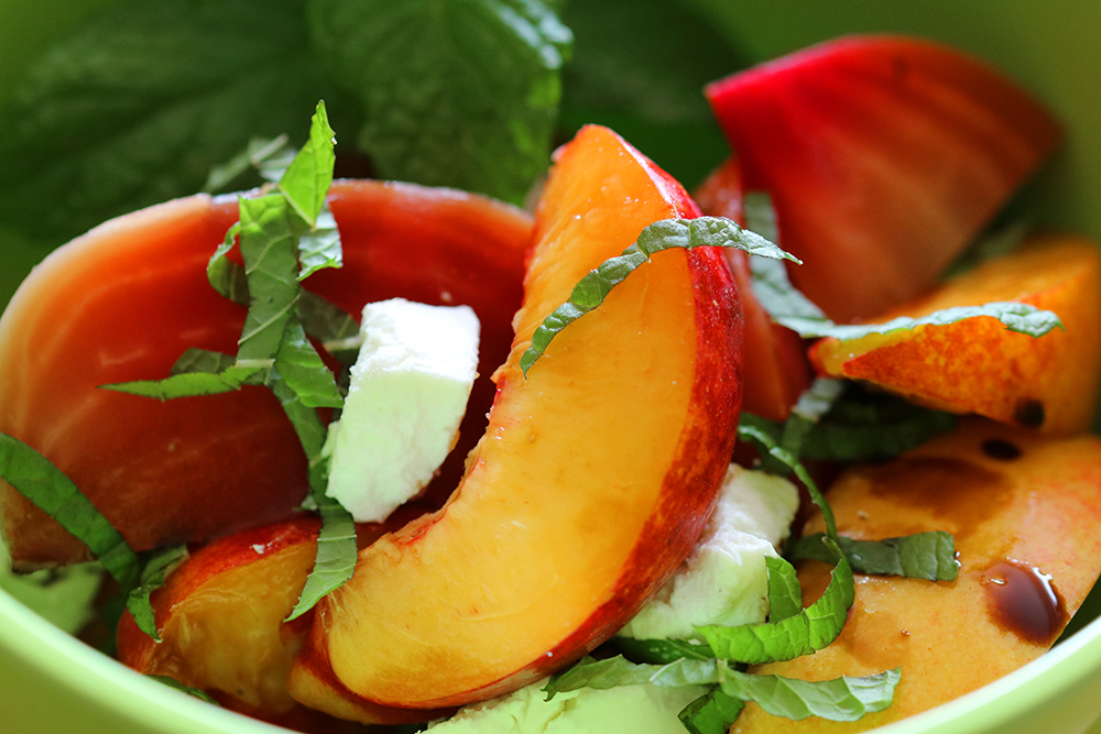 Nectarines and Candy Beets