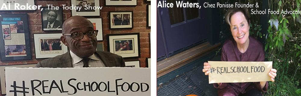 Al Roker and Chez Panisse's Alice Waters