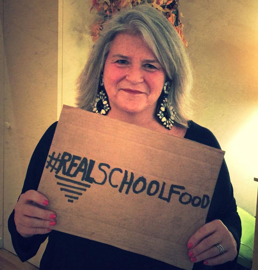#RealSchoolFood