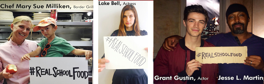 Mary Sue Milliken, Lake Bell and Jesse L. Martin with Grant Gustin