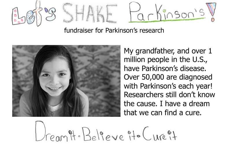 Let's SHAKE Parkinson's