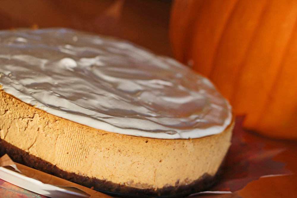 Gentleman Jack Pumpkin Ginger Cheesecake