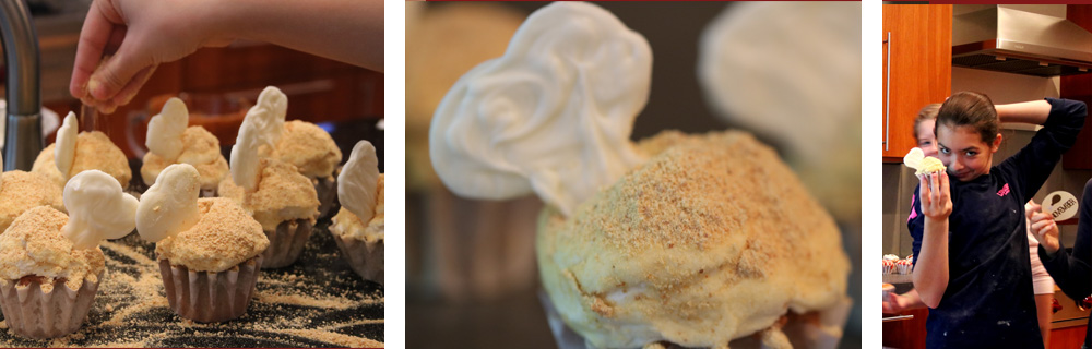 Turkey Leg Cupcakes
