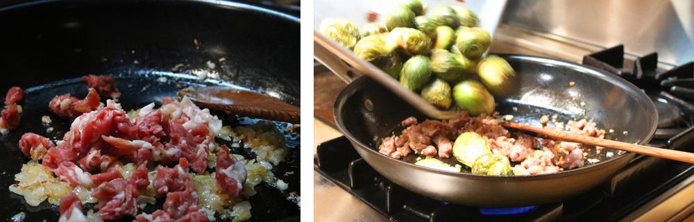 Prosciutto and Sprouts