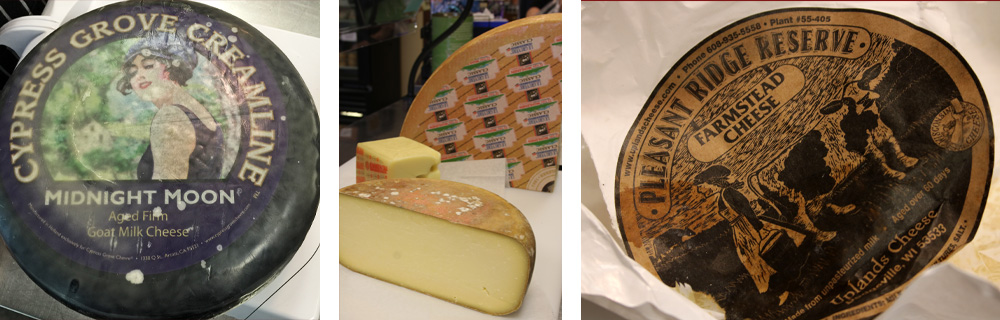 Specialty Cheeses - some of my faves