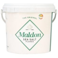 Bucket of Maldon Sea Salt
