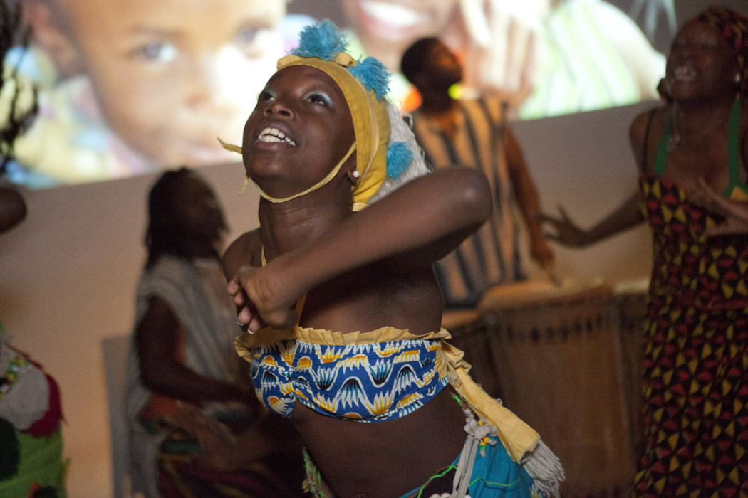 African Dancers at Infinite Family Fundraiser