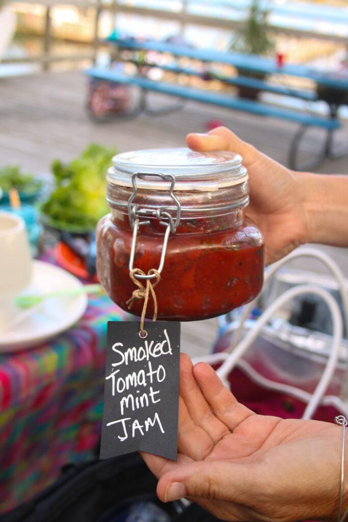 Smoked Tomato Mint Jam