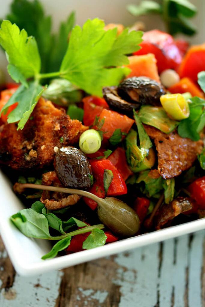 Panzanella Rustic Bread Salad