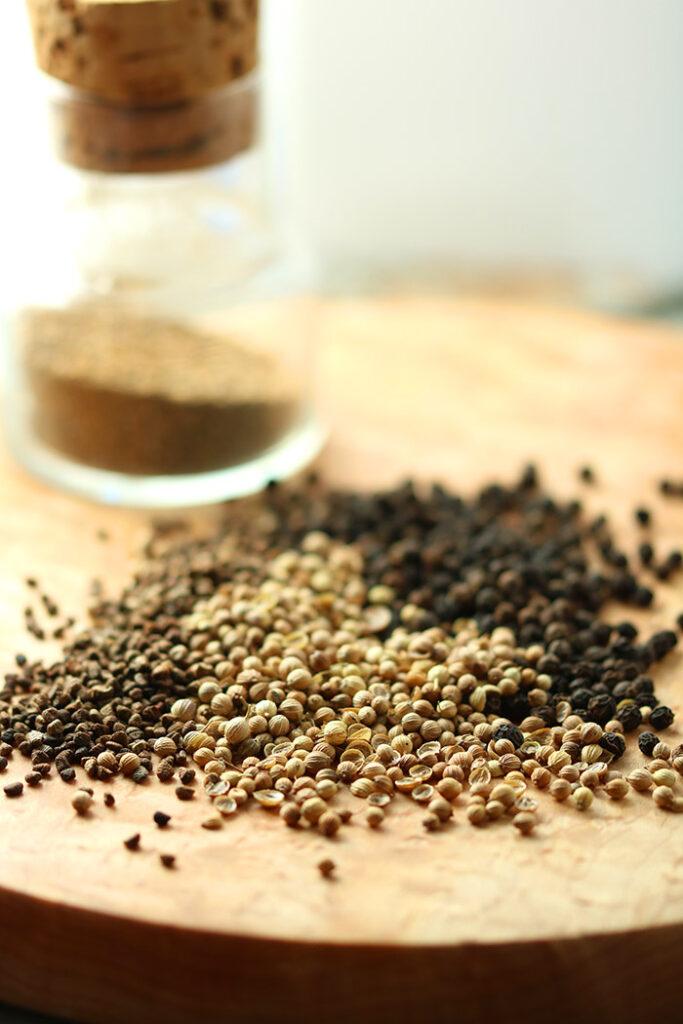 Pepper, Cardamom & Coriander