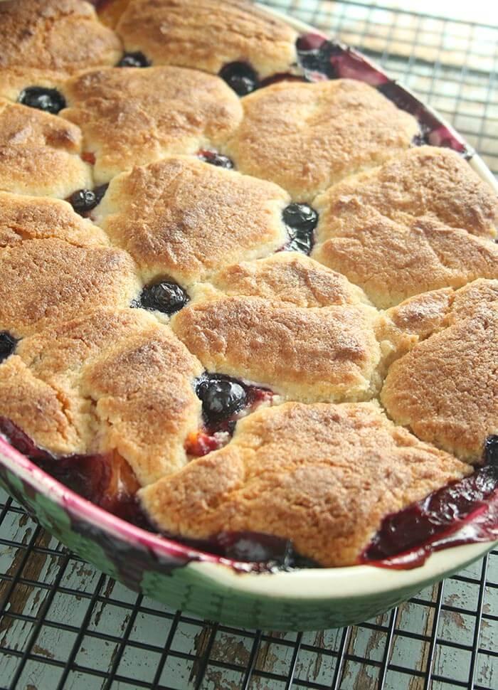 Summer Fruit Pot Pie