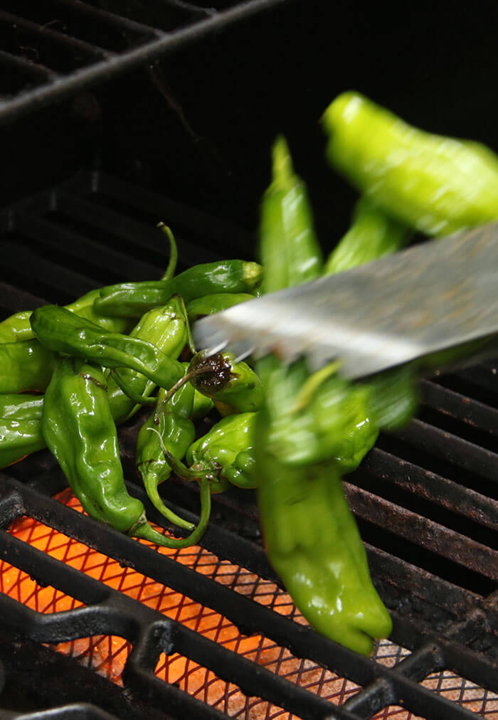 Flipping Peppers