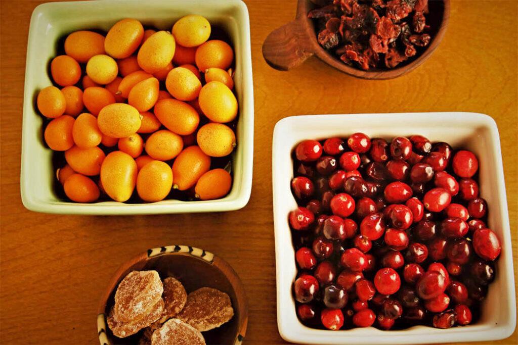 Kumquats, Crans & Ginger