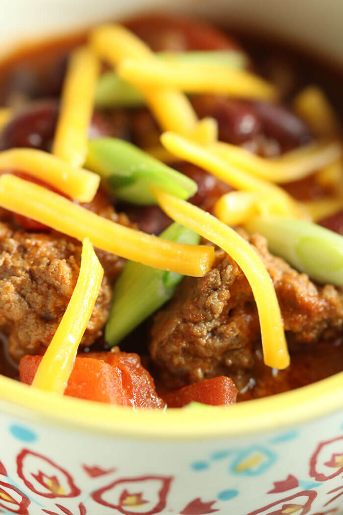 Kick Off Chili with All the Toppings