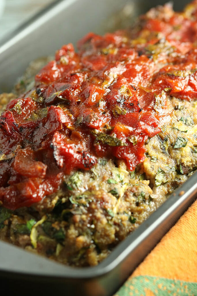 Herbed Greek Meatloaf