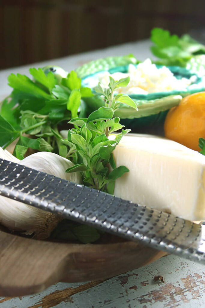 Herbs and Cheeses