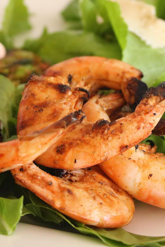 Sriracha Amp Chipotle Spicy Grilled Shrimp Katy Keck