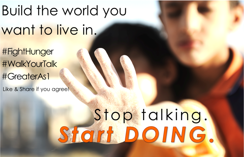 Stop Talking! Start Doing!