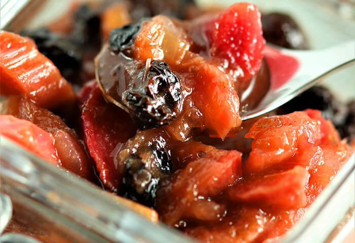 Spoonful of Rhubarb Ginger Chutney