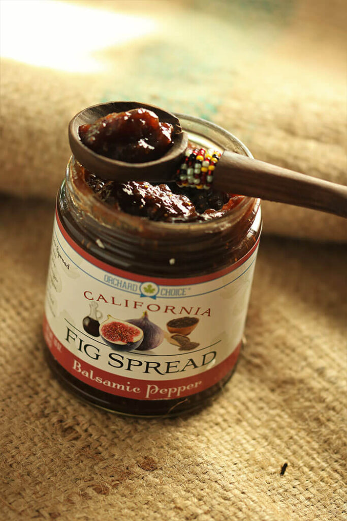 Balsamic Pepper Fig Spread