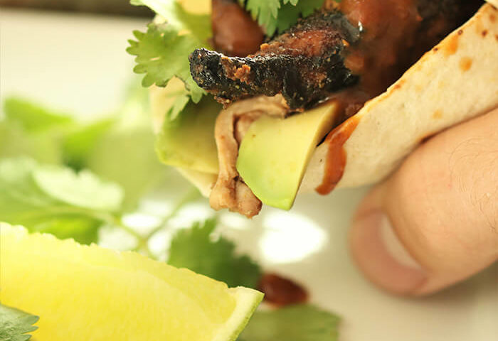 Chipotle Fig Chicken Fajita