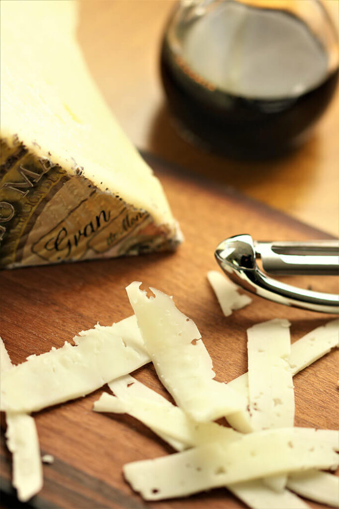Grated Manchego and Aged Balsamic