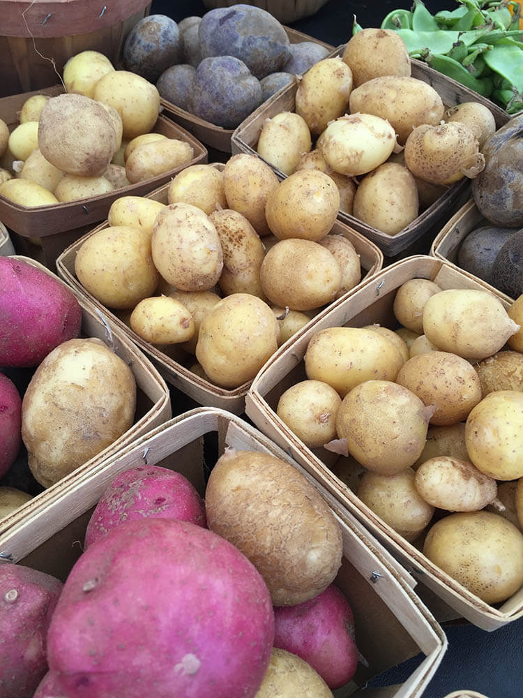 Farm Fresh New Potatoes
