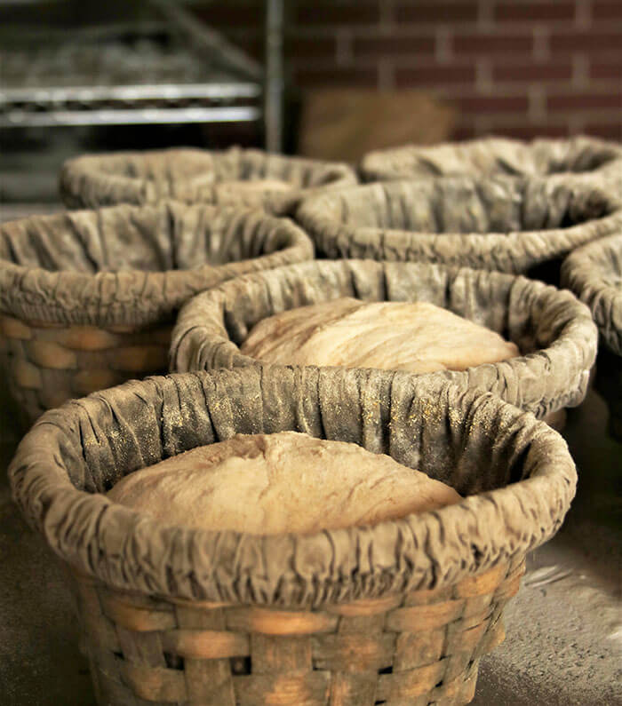 Dough in Baskets