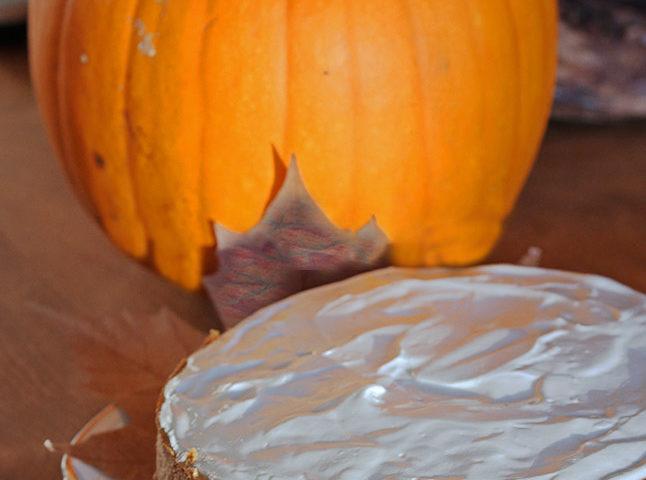 Gentleman Jack kicks up this ginger pumpkin cheesecake a full notch!