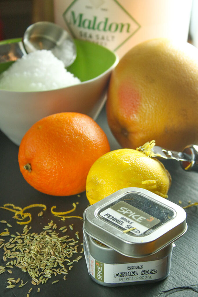Citrus Salt Ingredients