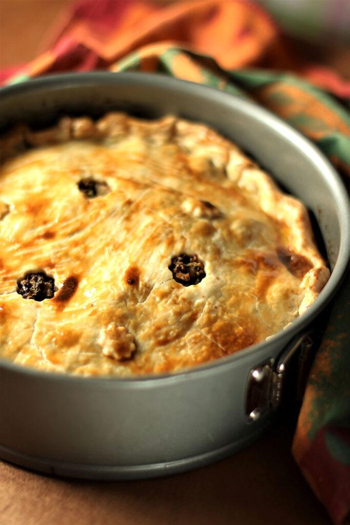 Horseradish Meat Pie