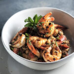 Herby Shrimp and White Beans