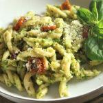 Drool-Worthy Scape Pesto Pasta