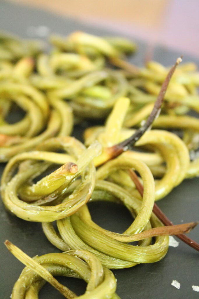 Serve Worthy Garlic Scapes