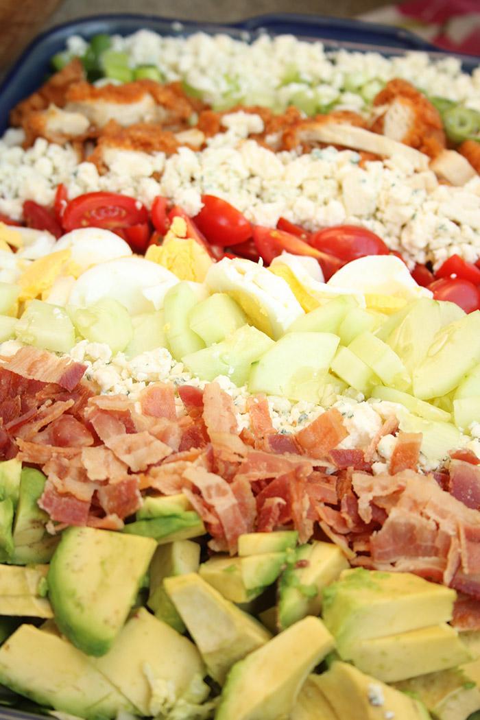 Salads: Cobb