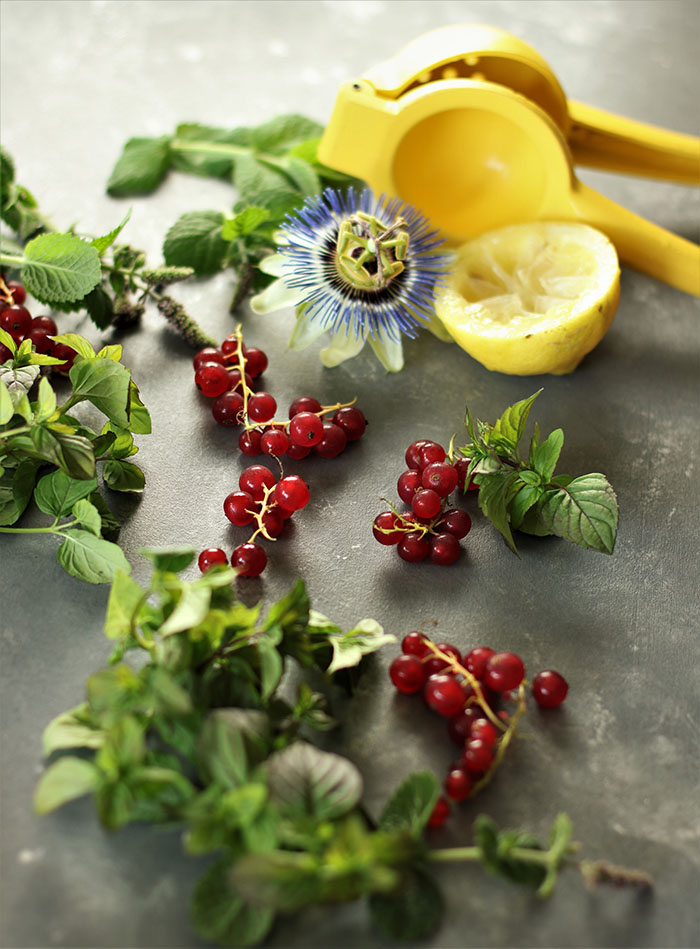 Currants and Mint