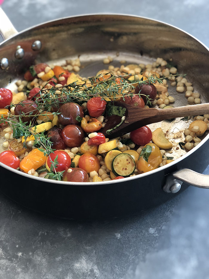 Thyme-Scented Veggie Saute