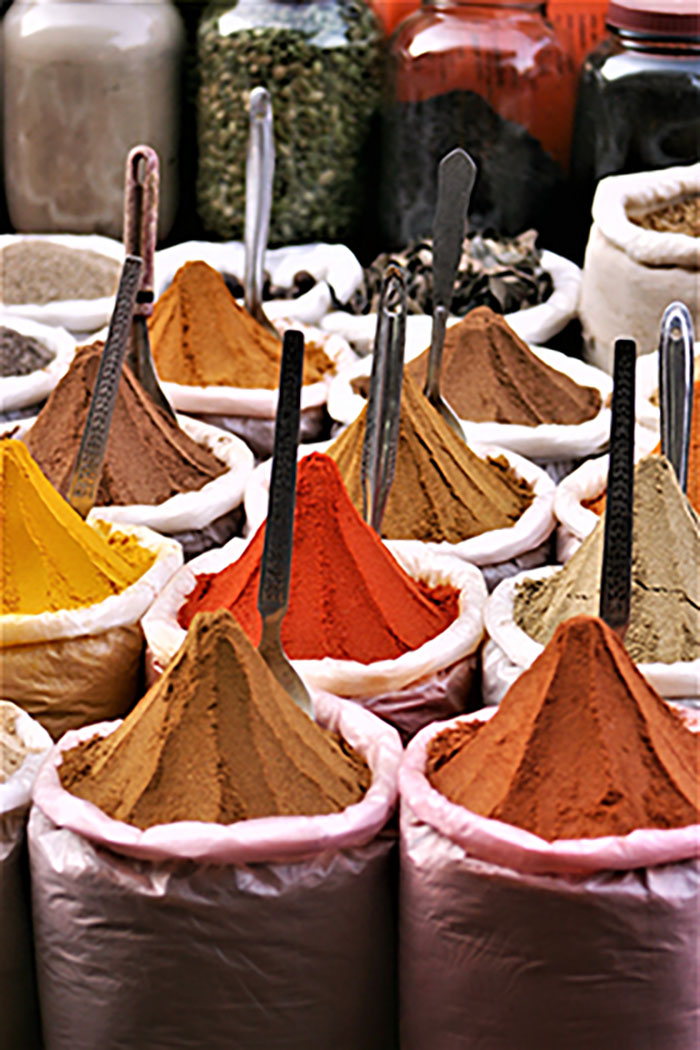 Spices in Mapusa Market