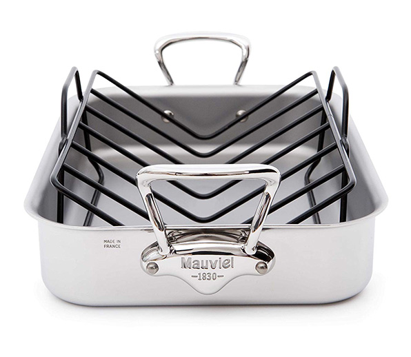 Mauviel-Roasting-Pan-and-Rack