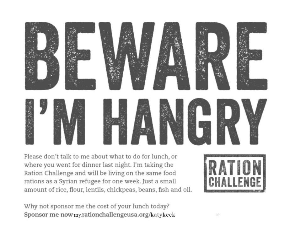 Beware I'm Hangry