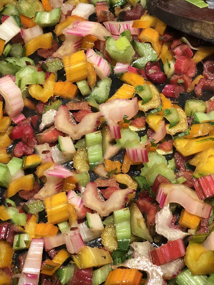 Rainbow Chard Saute