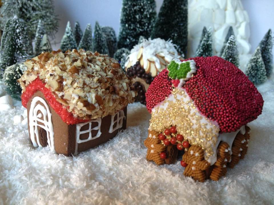 Cindy Fain Gingerbread House