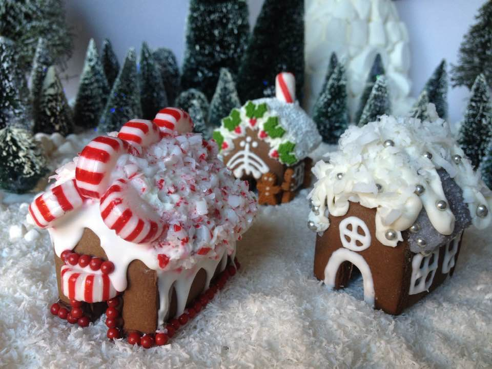 Cindy Fain Gingerbread Houses