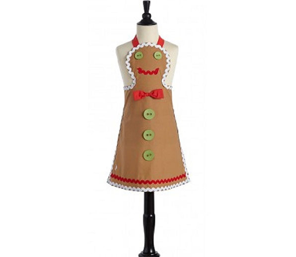 Children's Gingerbread Man Apron