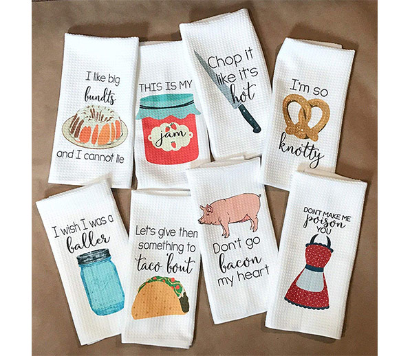 Kitchen-Towels-with-'tude: foodie gift guide