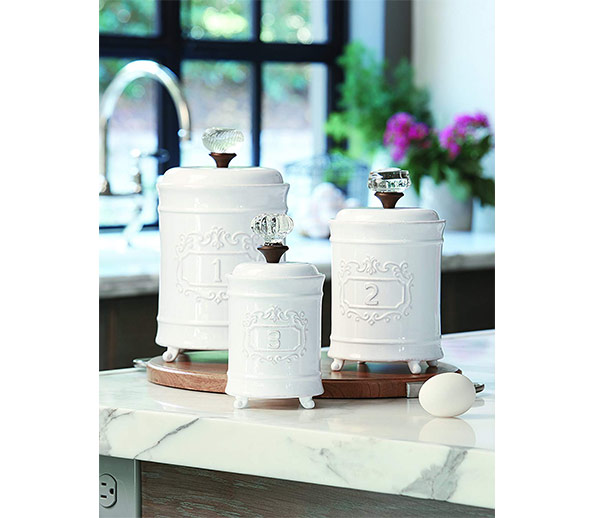 Mud Pie Kitchen Canisters