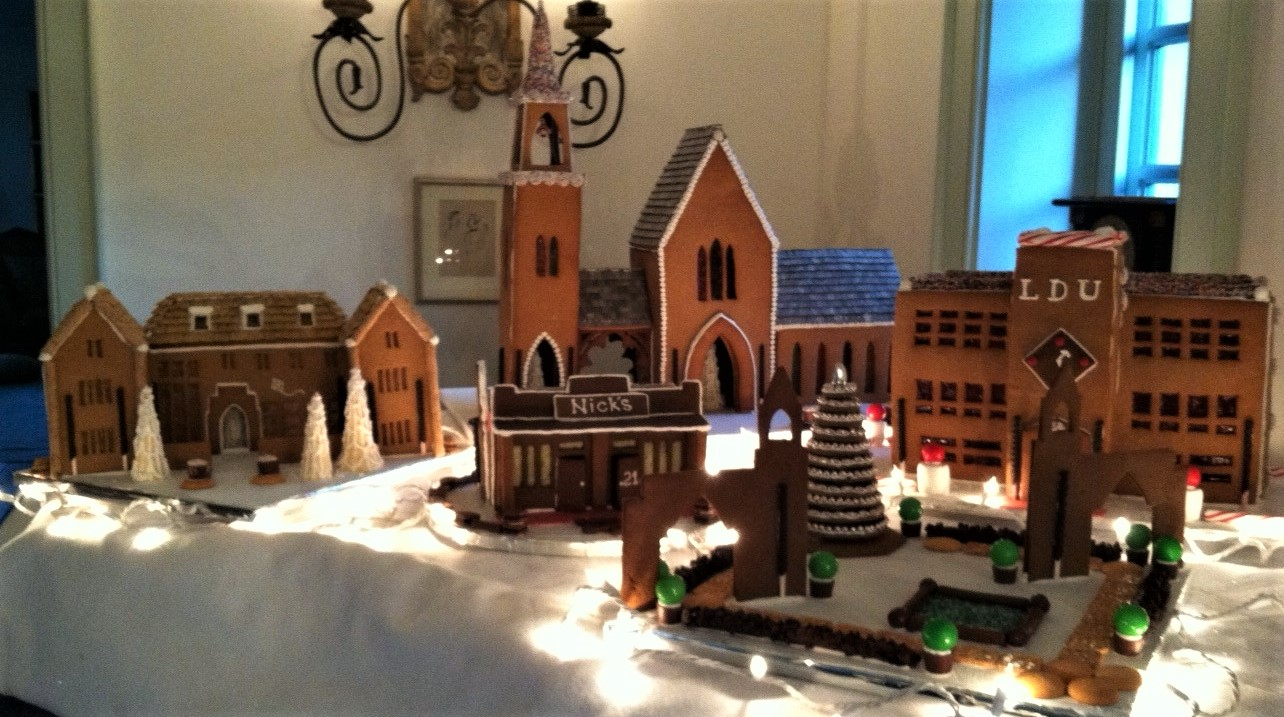 Indiana University Gingerbread House